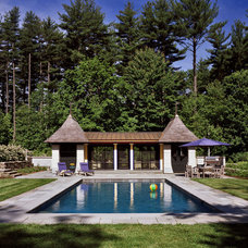 Traditional Pool by Albert, Righter & Tittmann Architects, Inc.