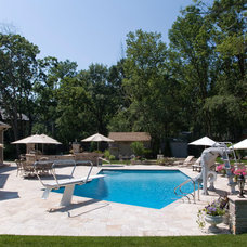 Contemporary Pool by Platinum Poolcare