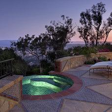Mediterranean Pool by Allen Construction