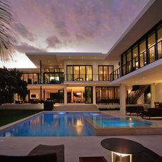 Contemporary Pool by Charlotte Dunagan Design Group