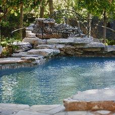Mediterranean Pool by RJ Aldriedge Companies Inc