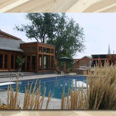 Traditional Pool by Robert J. Neylan Architects, Ltd.