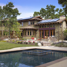 Traditional Pool by Simpson Design Group Architects