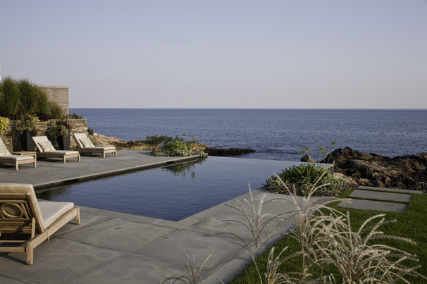 Beach Style Pool by LDa Architecture & Interiors