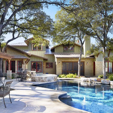 craftsman pool by Cornerstone Architects