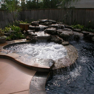 Hot Tub Waterfall Houzz