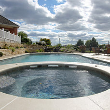 Contemporary Pool by Rosebrook Pools, Inc.