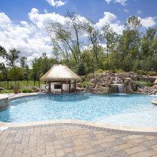 Tropical Pool by Rosebrook Pools, Inc.