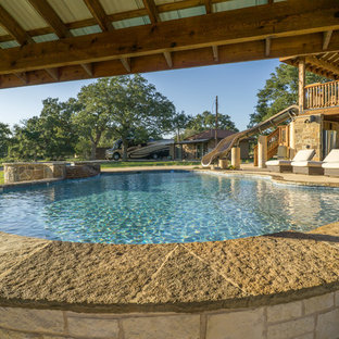 Ruby Ranch Pool w/Waterslide (Cedar)