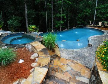 Rustic Free Form Pool