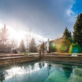 Rustic Montana Spa
