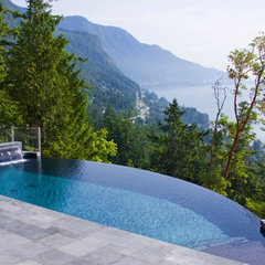 contemporary pool by Alka Pool Construction Ltd