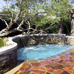 eclectic pool by Studio H Landscape Architecture