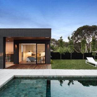 Modern pool in Melbourne.