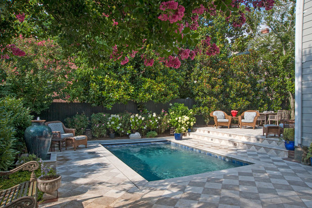 Traditional Pool by GardenWise
