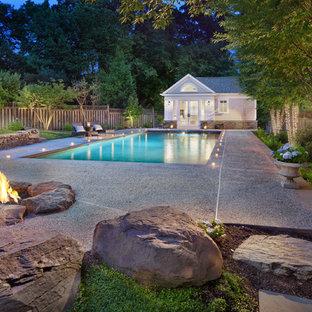 Saltwater Pool House