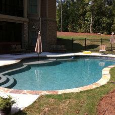 Traditional Pool by Artisan Pools, LLC