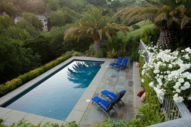 Traditional Pool by Pedersen Associates