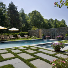 Turfgrass and Lawns Used Poolside
