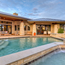 Traditional Pool by Design Visions of Austin