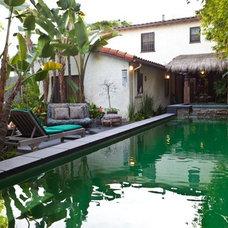 Eclectic Pool by Susan Cohen Associates, Inc.