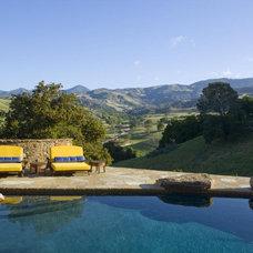 Mediterranean Pool by Arcadia Studio