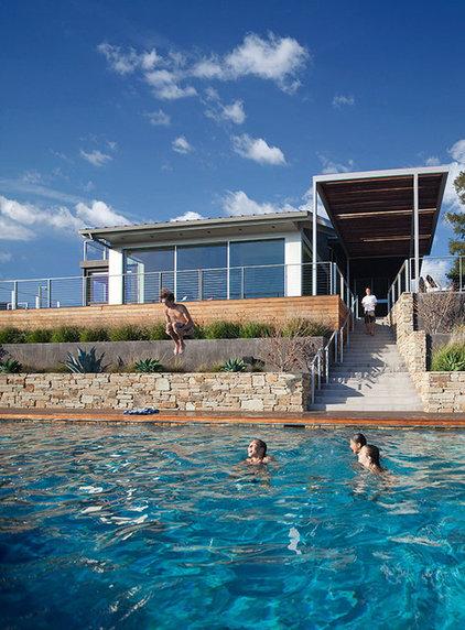 Contemporary Pool by Lori Smyth Design