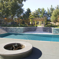 Traditional Pool by Conrado - Home Builders