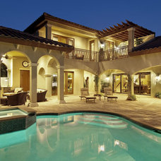 Mediterranean Pool by Sater Design Collection, Inc.