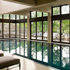 Traditional Pool by Poss Architecture + Planning + Interior Design