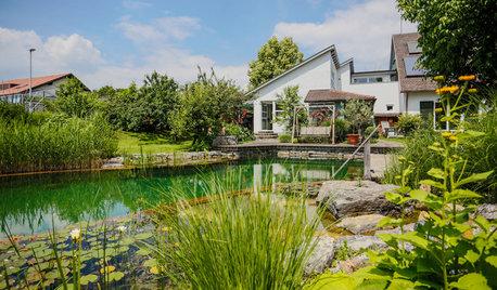 Jardín de la semana: Una piscina natural junto al lago Constanza