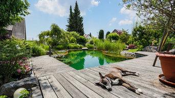 Schwimmteich Natur Pur