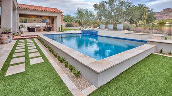 Scottsdale Award Winning Backyard Project