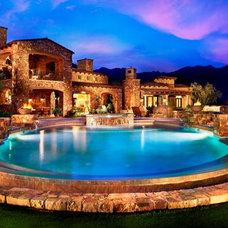 Mediterranean Pool by Schultz Development Corp