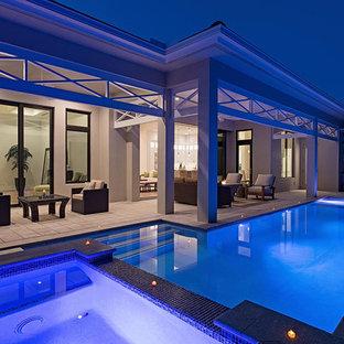 Seaside House Plan, Naples, FL