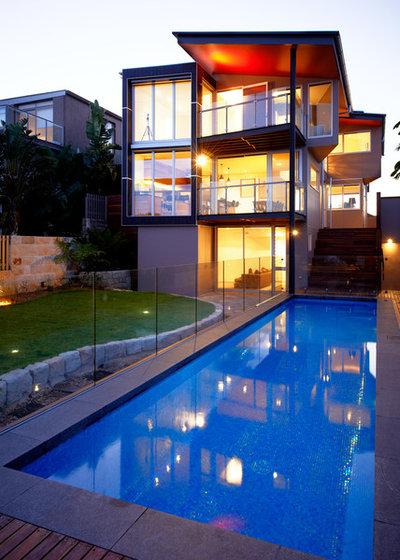 Contemporain Piscine by Mackenzie Pronk Architects