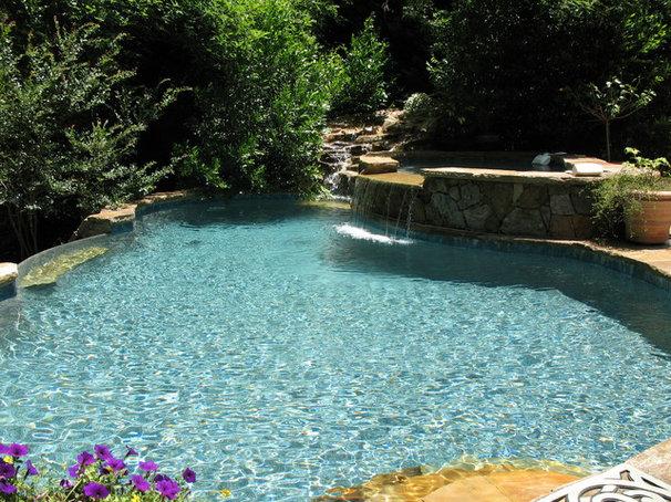 Traditional Pool by Botanica Atlanta   Landscape Design-Build-Maintain