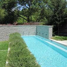 Modern Pool by Ohlenburg Inc