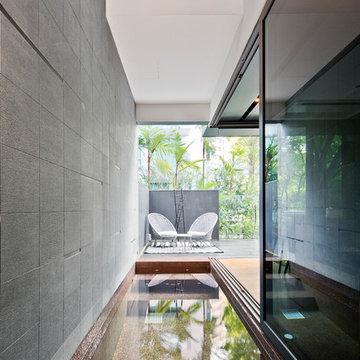 Semi-Detached House at Moonbeam Walk - Singapore