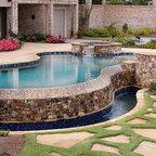 Cypress Custom Pools Grotto Closeup Pool Houston