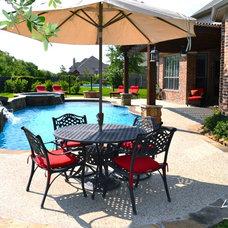 Tropical Pool by Legend Pools, LLC