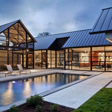 Contemporary Pool by McKinney York Architects
