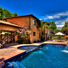 Mediterranean Pool by Jay Andre Construction, Inc.