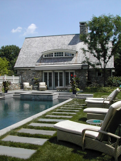 Traditional Pool by Samuel H. Williamson Associates