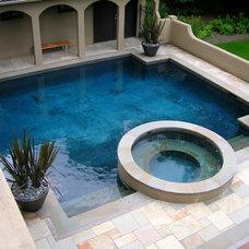 Mediterranean Pool by Samuel H. Williamson Associates