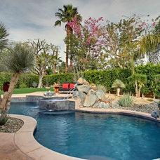 Mediterranean Pool by Gregory Albert Design