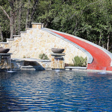 Traditional Pool by One Specialty Landscape Design, Pools & Hardscape