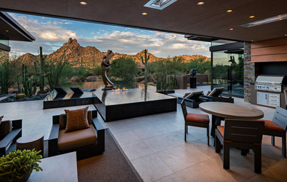 Houzz Tour: Southwestern Zen for an Art-Loving Couple