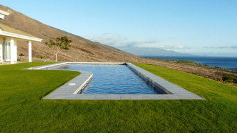Simple Pool with a view