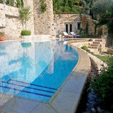Mediterranean Pool by Poolstones by Sofikitis